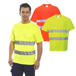 Tee-shirt HV confort coton Portwest S172