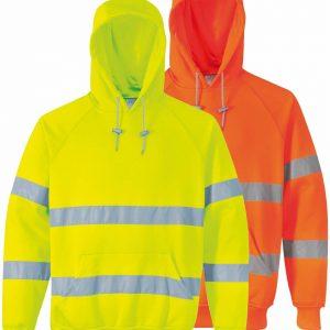 Sweatshirt HV à capuche Portwest B304